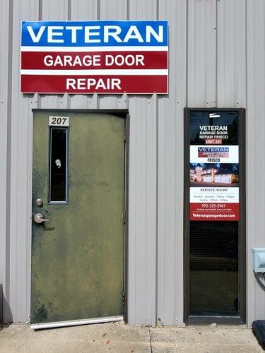garage door repair and replacement company in Frisco TX