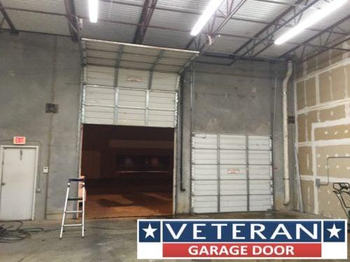 High Lift Garage Doors Conversion